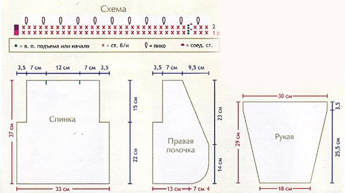 Модели спицами из пряжи букле схема