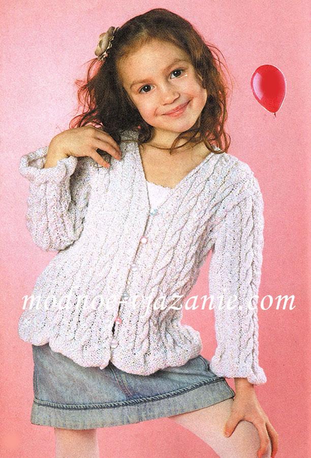 Вязание для девочки 6-7 лет 84