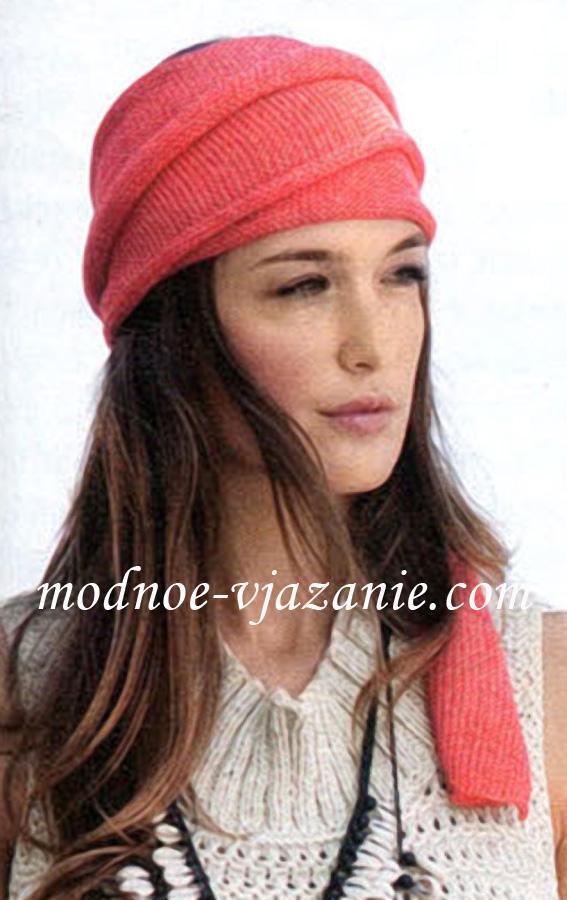 Вязаные повязки на голову служат скорее украшением, чем защитой от холода, поэтому Поворотное вязание спицами/swing
